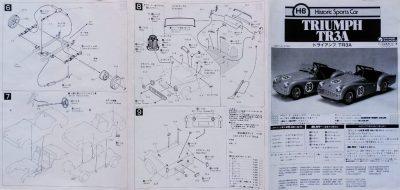 mockupグンゼ産業トライアンフTR-3A