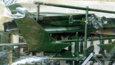 mockupタミヤ1/100F-105D
