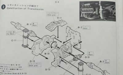 mockupフジミ1/24童夢・零RL