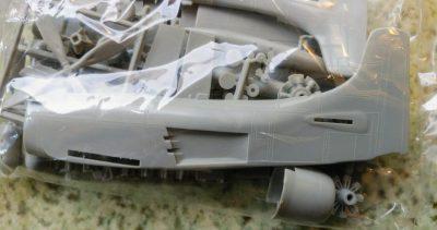 mockupグンゼ・エアフィックス1/72スカイレーダー
