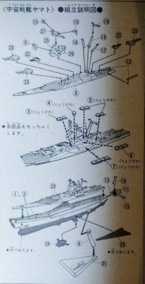 mockupバンダイ宇宙戦艦ヤマト