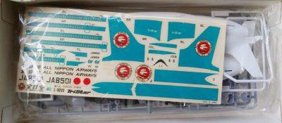 mockupハセガワ1/200ロッキードL-1011トライスター