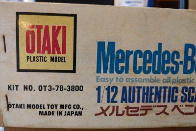 mockupオオタキ1/12メルセデスベンツ450SLC