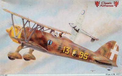 mockupクラシックエアーフレーム1/48フィアットCR42