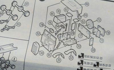 mockupマッチボックス1/76モンティーズ・キャラバン