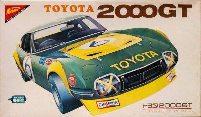 mockupニチモ1/24トヨタ2000GT