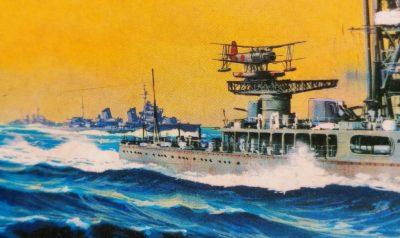 mockupフジミ1/700軽巡洋艦神通