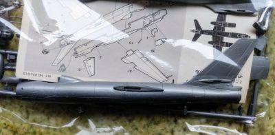 mockupタミヤ1/100イリューシンIl-28ビークル