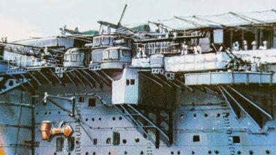 mockupフジミ1/700航空母艦龍驤