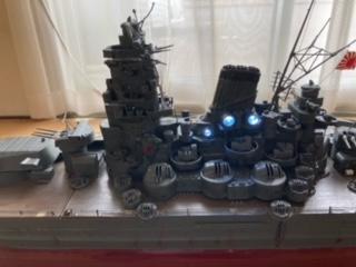 mockupラジコン戦艦大和